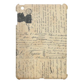 Vintage Handwriting iPad Mini Case