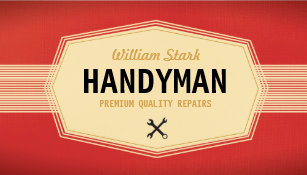 Handyman business cards zazzle vintage handyman business cards colourmoves