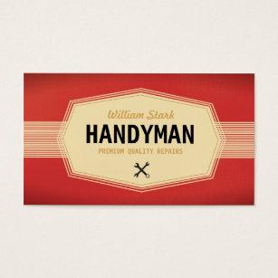 Handyman business cards templates zazzle vintage handyman business cards wajeb Gallery