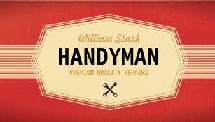 Painter business cards zazzle vintage handyman business cards colourmoves