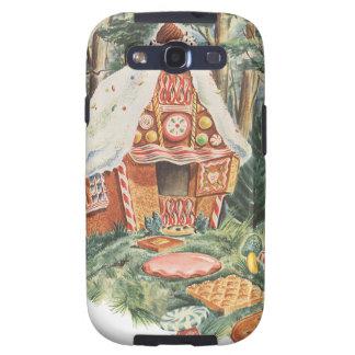 Vintage Hansel y Gretel; La casa de la bruja del c Galaxy S3 Cárcasa