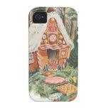 Vintage Hansel y Gretel; La casa de la bruja del c Vibe iPhone 4 Carcasas