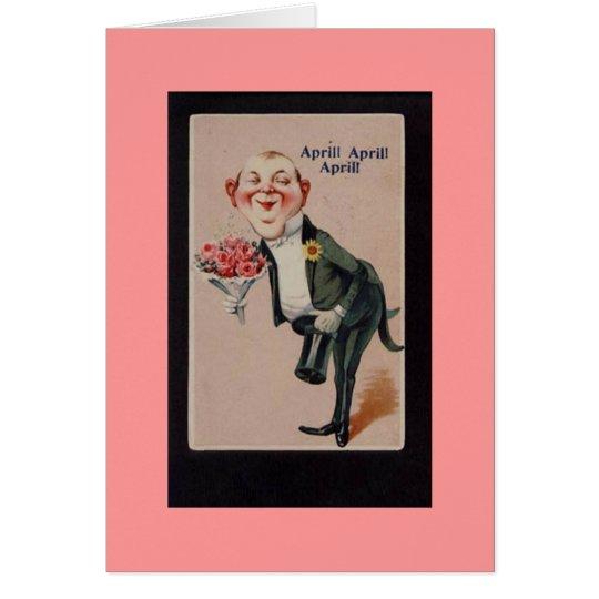 Vintage Happy April Fools Day Card