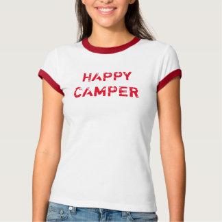 Vintage Happy Camper Ringer T-Shirt