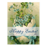 Vintage Happy Easter Designs Post Card