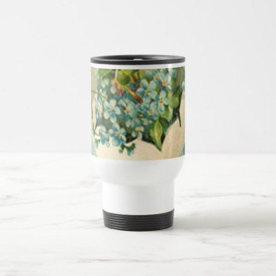 Vintage Happy Easter Designs Travel Mug
