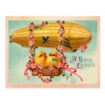 Vintage Happy Easter Postcard