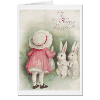 Vintage Happy Easter! Vintage Easter Greeting Card