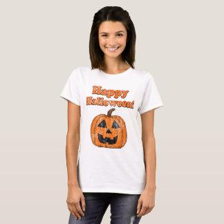 Vintage Happy Halloween Jackolantern T-Shirt