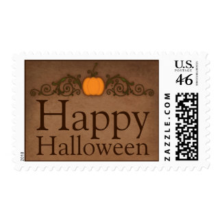 Vintage Happy Halloween Postage