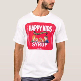 "Vintage ""Happy Kids Syrup"" Shirt"