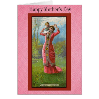 Vintage Happy Mothers Day Card