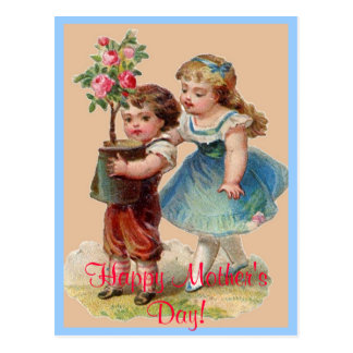 Vintage Happy Mother's Day Post Card