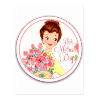 Vintage Happy Mother's Day Postcard