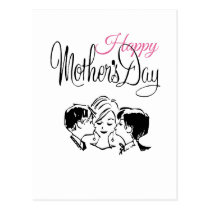 Vintage Happy mother's day! Postcard