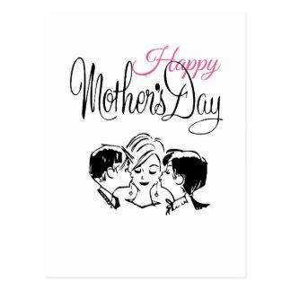 Vintage Happy mother's day! Postcard