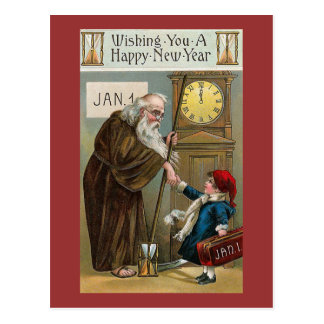 Vintage Happy New Year Post Card