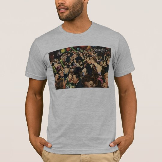 Vintage Happy New Year's Eve Party and Balloons T-Shirt