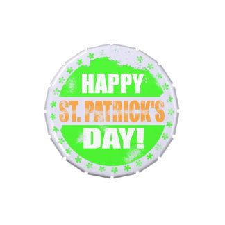 Vintage Happy Saint Patricks Day Jelly Belly Tins