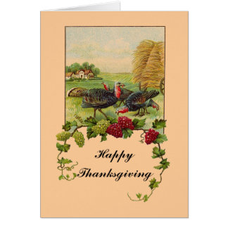 Vintage Happy Thanksgiving Greeting Cards
