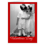 Vintage Happy Valentine Day ! - Customized Greeting Card