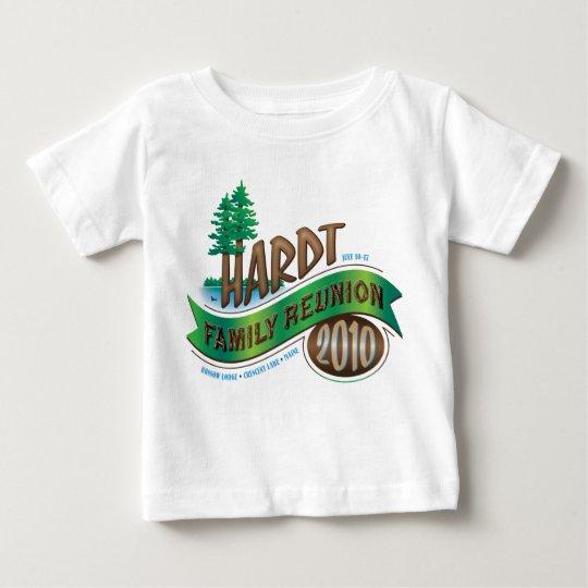 Vintage Hardt Family Reunion Baby T-Shirt