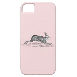 Vintage Hare Bunny Rabbit Illustration -Rabbits iPhone SE/5/5s Case