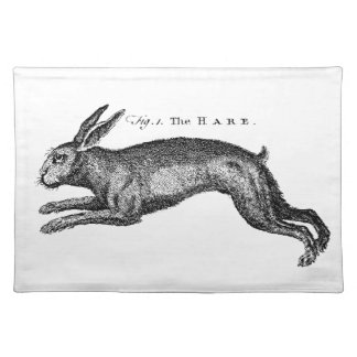 Vintage Hare Placemat