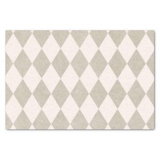 Vintage Harlequin Pattern Custom Tissue Paper