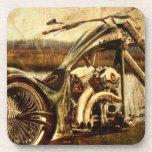 Vintage Harley Davidson Coaster at Zazzle