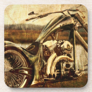 Vintage Harley Davidson Coaster