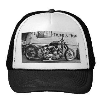 Vintage Harley Ironhead Chopper Hat