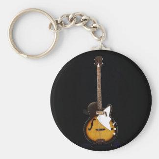 Vintage Harmony H22 Bass Keychain