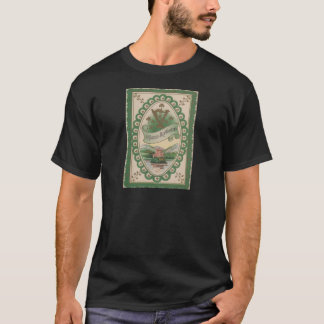 Vintage Harp Of Erin St Patrick's Day Card T-Shirt