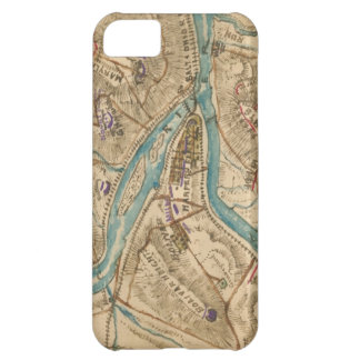 Vintage Harpers Ferry Civil War Map (1862) Cover For iPhone 5C