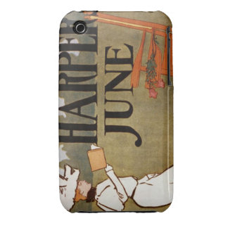 Vintage Harper's Magazine Case-Mate iPhone 3 Case