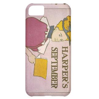 Vintage Harper's Magazine Cover iPhone 5C Case