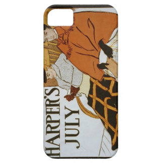 Vintage Harper's Magazine Cover iPhone 5 Covers