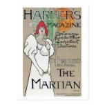 Vintage Harper's Magazine Du Maurier series ad Postcard