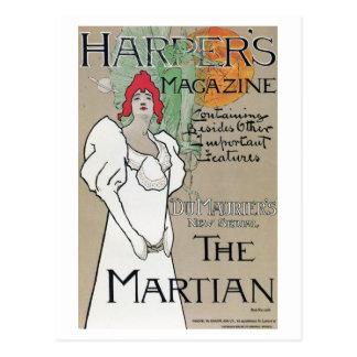 Vintage Harper's Magazine Du Maurier series ad Postcards