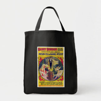 Vintage Harry Houdini Prison Cell & Barrel Mystery Tote Bag