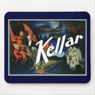 Vintage Harry Kellar Magician Poster 1897 Mouse Pad