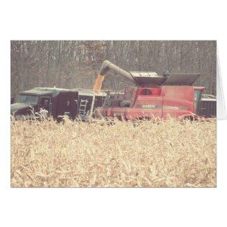 Vintage Harvest card