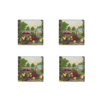 Vintage Harvest Stone Magnet