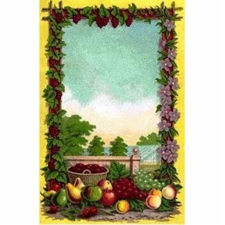 Vintage Harvest Photo Cutout