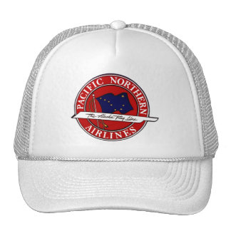 Vintage Hat Alaska Route Airline Pacific Northern