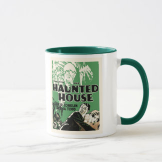 Vintage Haunted House Mug