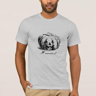 Vintage Haunted Jack O' Lantern Pumpkin T-Shirt