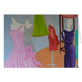 """""""Vintage Haute Couture:Paris"""" Card"""
