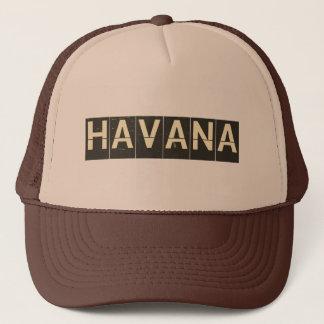 Vintage Havana Departure Board Trucker Hat